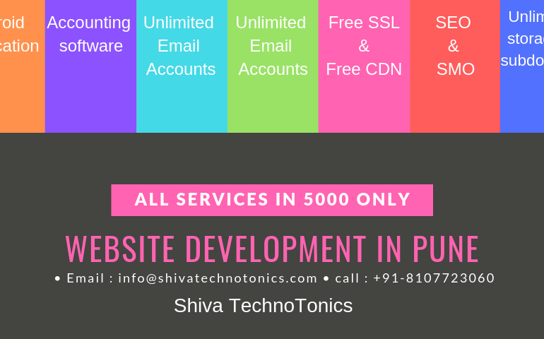 website development in pune